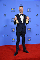 Justin Hurwitz at the 74th Golden Globe Awards  at The Beverly Hilton Hotel, Los Angeles USA 8th January  2017<br /> Picture: Paul Smith/Featureflash/SilverHub 0208 004 5359 sales@silverhubmedia.com