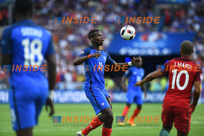Paul Pogba<br /> Paris 10-07-2016 Stade de France Football Euro2016 Portugal - France / Portogallo - Francia Finale / Final<br /> Foto Massimo Insabato / Insidefoto