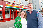 John O'Leary and his wife Michelle of O'Leary's at The Granary bar and Restaurant