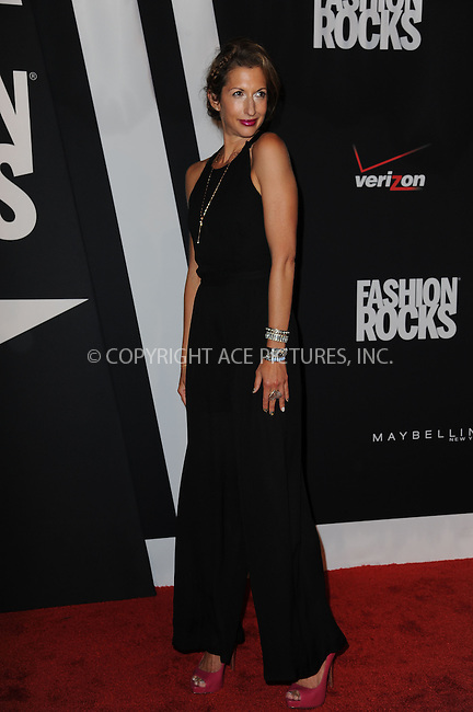 WWW.ACEPIXS.COM<br /> September 9, 2014 New York City<br /> <br /> Alysia Reiner attending Fashion Rocks 2014 at the Barclays Center September 9, 2014 in New York City.<br /> <br /> Please byline: Kristin Callahan/AcePictures<br /> <br /> ACEPIXS.COM<br /> <br /> Tel: (212) 243 8787 or (646) 769 0430<br /> e-mail: info@acepixs.com<br /> web: http://www.acepixs.com