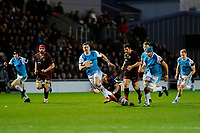 George North of Ospreys in action during the Guinness Pro14 round 12 match between the Dragons and the Ospreys at Rodney Parade in Newport, Wales, UK. Sunday 30 December 2018