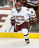 Brett Motherwell (BC - 8) - The Boston College Eagles defeated the visiting Northeastern University Huskies 7-1 on Friday, March 9, 2007, to win their Hockey East quarterfinals matchup in two games at Conte Forum in Chestnut Hill, Massachusetts.