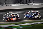 Monster Energy NASCAR Cup Series<br /> Daytona 500<br /> Daytona International Speedway, Daytona Beach, FL USA<br /> Sunday 18 February 2018<br /> Denny Hamlin, Joe Gibbs Racing, FedEx Express Toyota Camry leads<br /> World Copyright: Rusty Jarrett<br /> LAT Images