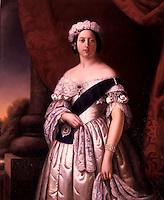 Queen Victoria by Alexander Melville, 1845