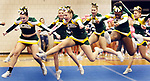 WATERBURY CT. 16 February 2018-021619SV13-Holy Cross High competes in the NVL Cheerleading Championship at Crosby High School in Waterbury Saturday.<br /> Steven Valenti Republican-American