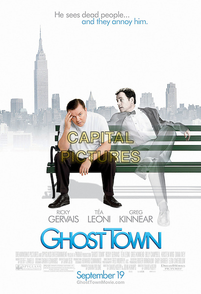 POSTER ART.in Ghost Town.*Filmstill - Editorial Use Only*.CAP/FB.Supplied by Capital Pictures.