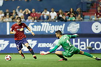 David Rodriguez (forward; CA Osasuna) during the Spanish <br /> la League soccer match between CA Osasuna and CF Reus at Sadar stadium, in Pamplona, Spain, on Wednesday, September 12, 2018.
