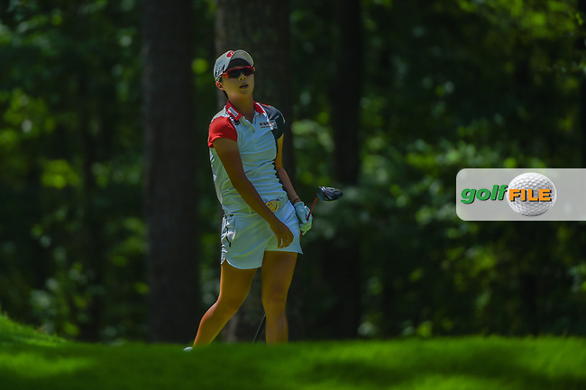 Hyo Joo Kim (KOR) watches her tee shot on 2 during round 3 of the U.S. Women's Open Championship, Shoal Creek Country Club, at Birmingham, Alabama, USA. 6/2/2018.<br /> Picture: Golffile | Ken Murray<br /> <br /> All photo usage must carry mandatory copyright credit (© Golffile | Ken Murray)