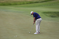 Shane Lowry (IRL) putts on the 5th green during Saturday's Round 3 of the 117th U.S. Open Championship 2017 held at Erin Hills, Erin, Wisconsin, USA. 17th June 2017.<br /> Picture: Eoin Clarke | Golffile<br /> <br /> <br /> All photos usage must carry mandatory copyright credit (&copy; Golffile | Eoin Clarke)