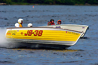 Jersey Speed Skiffs in mock competition.