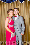 Attending the Castleisland Community College Debs at the Earl of Desmond Hotel on Friday night were l-r  Rachel Coyne and Ryan Roderick.