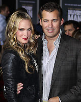 "HOLLYWOOD, CA - NOVEMBER 03: Molly Sims, Scott Stuber at the Los Angeles Premiere Of DreamWorks Pictures' ""Delivery Man"" held at the El Capitan Theatre on November 3, 2013 in Hollywood, California. (Photo by Xavier Collin/Celebrity Monitor)"