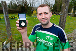 Dominick Lynch Glenbeigh who won his 22nd All Ireland Handball medal in dublin last weekend