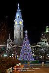Holiday Tree at JFK Plaza, Philadelphia, Pennsylvania