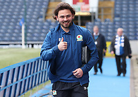 Blackburn Rovers' Bradley Dack arrives at the ground<br /> <br /> Photographer Rachel Holborn/CameraSport<br /> <br /> The EFL Sky Bet League One - Blackburn Rovers v Blackpool - Saturday 10th March 2018 - Ewood Park - Blackburn<br /> <br /> World Copyright &copy; 2018 CameraSport. All rights reserved. 43 Linden Ave. Countesthorpe. Leicester. England. LE8 5PG - Tel: +44 (0) 116 277 4147 - admin@camerasport.com - www.camerasport.com
