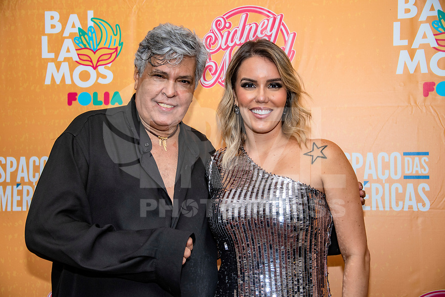 SAO PAULO,SP 15.02.2019 - SHOW-SP - A cantora baiana Katê, faz participação especial no show comemorativo de 50 anos de carreira do cantor Sidney Magal, no Espaço das Américas, zona oeste de São Paulo, na noite desta sexta-feira, 15. (Foto: Bruna Grassi/Brazil Photo Press)