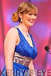 London Rose Nóra Ní Fhlannagáin during the Tuesday night Rose Selection at the Dome.