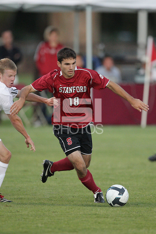STANFORD, CA - AUGUST 25:  Dersu Abolfathi of the Stanford Cardinal during Stanford's 0-0 tie with the St. Mary's Gaels at Laird Q. Cagan Stadium on August 25, 2009 in Stanford, California.