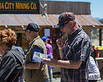 A photograph taken during the Taste of the Comstock in Virginia City on Saturday, June 10, 2017.