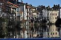 15/02/11 - AURILLAC - CANTAL - FRANCE - Les bords de la Jordanne a Aurillac - Photo Jerome CHABANNE