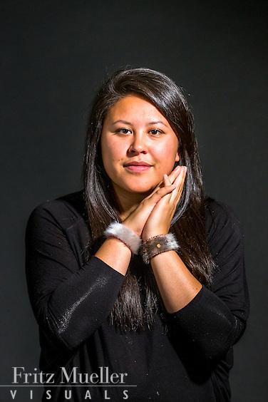 Adaka Cultural Festival 2016, Whitehorse, Yukon, Canada, Yukon First Nation Culture and Tourism Association, Kwanlin Dun Cultural Centre, Shirley Frost, beadwork, Shayla Snowshoe (talent)