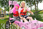 Pretty in Pink at the Astella's raft race in Killorglin on Friday was Patie Casey Glenbeigh and Mike Cooper Killarney ..