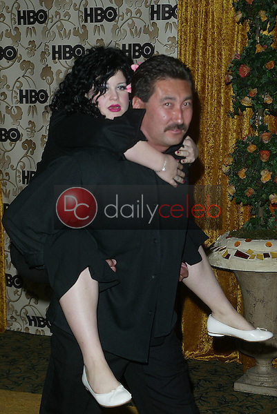 Kelly Osbourne and bodyguard