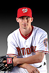 25 February 2007: Washington Nationals pitcher Levale Speigner poses for his Photo Day portrait at Space Coast Stadium in Viera, Florida.<br /> <br /> Mandatory Photo Credit: Ed Wolfstein Photo<br /> <br /> Note: This image is available in a RAW (NEF) File Format - contact Photographer.