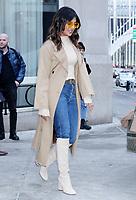 NEW YORK, NY- February 05: Priyanka Chopra on her way to The Tonight Show Starring Jimmy Fallon in New York City.  February 05, 2019. <br /> CAP/MPI/RW<br /> &copy;RW/MPI/Capital Pictures