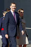 20170403. Spanish Royals Depart To Japan.
