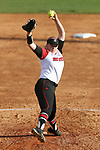 RALEIGH, NC - MARCH 29: NC State's Peyton Silverman. The North Carolina State University Wolfpack hosted the Liberty University Flames on March 29, 2017, at Dail Softball Stadium in Raleigh, NC in a Division I College Softball game. Liberty won the game 5-3.