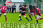 St Brendans Park Sean O'Connor in action against Renmore of Galway in the U15 National Cup in Christy Leahy Park on Saturday.