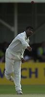 31/05/2002.Sport -Cricket - 2nd NPower Test -Second Day.England vs Sri Lanka.Muttiah Mulalitharan. [Mandatory Credit Peter Spurrier:Intersport Images]