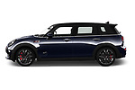 Car Driver side profile view of a 2020 MINI Clubman 5 Door Wagon Side View