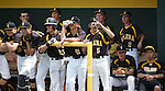 The Galena bench cheers for their team during an NIAA DI baseball game against Centennial at Bishop Manogue High School in Reno, Nev., on Thursday, May 19, 2016. Cathleen Allison/Las Vegas Review-Journal