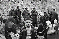 Les Roms de Montreuil en attente d'expulsion
