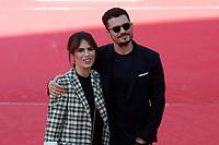 Orlando Bloom and Maya Sansa<br /> Roma 04/11/2017.  Auditorium parco della Musica. Festa del Cinema di Roma 2017.<br /> Rome November 4th 2017. Rome Film Fest 2017<br /> Foto Samantha Zucchi Insidefoto