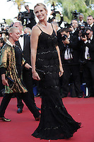 """Estelle Lefebure - """" On The Road """" Premiere at the 65th Cannes Film Festival at the Palais des Festival..May 23rd, 2012."""