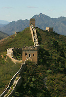 The Great Wall in Beijing, China..