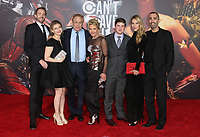LOS ANGELES, CA - NOVEMBER 13: Chuck Roven, Stephanie Haymes, Family, at the Justice League film Premiere on November 13, 2017 at the Dolby Theatre in Los Angeles, California. <br /> CAP/MPI/FS<br /> &copy;FS/MPI/Capital Pictures