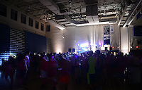 Students participate in annual 12-hour Rock-a-Thon of dance at Council Rock North high school which benefits Have A Catch For Barb Friday April 24, 2015 in Newtown, Pennsylvania. Have A Catch For Barb is a nonprofit named for a former Council Rock resident which raises money to support families affected by cancer. (Photo by William Thomas Cain/Cain Images)