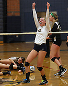 Lake Orion at Clarkston, Varsity Volleyball, 11/6/13