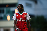 Seattle, WA - Thursday, May 26, 2016: Arsenal Ladies FC forward Asisat Oshoala (24). The Seattle Reign FC of the National Women's Soccer League (NWSL) and the Arsenal Ladies FC of the Women's Super League (FA WSL) played to a 1-1 tie during an international friendly at Memorial Stadium.