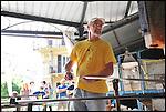 Jean-Marie Bertaina, maestro vetraio, al Glass Fest di Altare (SV) 2014