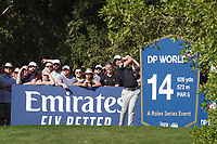 Danny Willett (ENG) during the third round of the DP World Championship, Earth Course, Jumeirah Golf Estates, Dubai, UAE. 23/11/2019<br /> Picture: Golffile | Phil INGLIS<br /> <br /> <br /> All photo usage must carry mandatory copyright credit (© Golffile | Phil INGLIS)