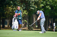 Matt Fitzpatrick (ENG) hits his approach shot on 6 during round 3 of the World Golf Championships, Mexico, Club De Golf Chapultepec, Mexico City, Mexico. 3/4/2017.<br /> Picture: Golffile | Ken Murray<br /> <br /> <br /> All photo usage must carry mandatory copyright credit (&copy; Golffile | Ken Murray)