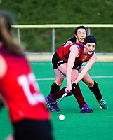180526 Wellington Premier Women's Hockey - Hutt United v Dalefield
