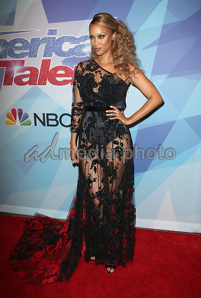 "29 August 2017 - Hollywood, California - Tyra Banks. NBC ""America's Got Talent"" Season 12 Live Show held at the Dolby Theatre. Photo Credit: F. Sadou/AdMedia"