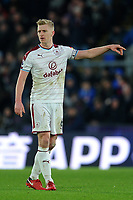 Burnley's Ben Mee<br /> <br /> Photographer Ashley Crowden/CameraSport<br /> <br /> The Premier League - Crystal Palace v Burnley - Saturday 13th January 2018 - Selhurst Park - London<br /> <br /> World Copyright &copy; 2018 CameraSport. All rights reserved. 43 Linden Ave. Countesthorpe. Leicester. England. LE8 5PG - Tel: +44 (0) 116 277 4147 - admin@camerasport.com - www.camerasport.com