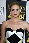 US actress Brittany Snow arrives at the 25th Independent Spirit Awards held at the Nokia Theater in Los Angeles on March 5, 2010. The Independent Spirit Awards is a celebration honoring films made by filmmakers who embody independence and originality..Photo by Nina Prommer/Milestone Photo